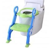 """Детское сиденье на унитаз со ступенькой """"Пингвинчик"""", цвет синий"""