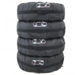 "Чехлы для хранения колёс Home Comfort ""Premium Car Storage Bag R13-16"", 4 шт"