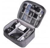 Органайзер для хранения шнуров и зарядных устройств, цвет черный