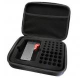Органайзер для хранения батареек в комплекте с тестером батареек