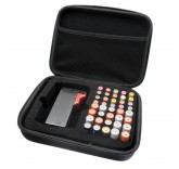 Органайзер для хранения батареек с тестером батареек и батарейками AA, AAA, 40 батареек