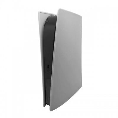 Купить Силиконовый пылезащитный чехол для игровой консоли Sony PS5 (Цифровая версия), белый с доставкой по России