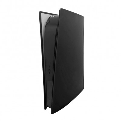 Купить Силиконовый пылезащитный чехол для игровой консоли Sony PS5 (Цифровая версия), черный с доставкой по России