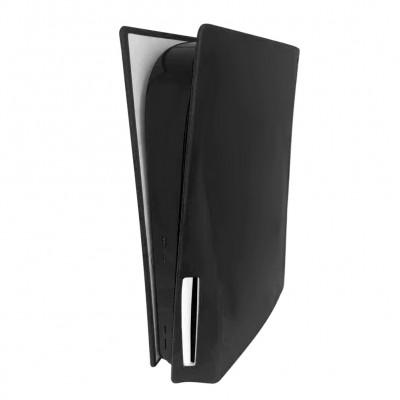 Купить Силиконовый пылезащитный чехол для игровой консоли Sony PS5 с оптическим приводом, черный с доставкой по России