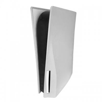 Купить Силиконовый пылезащитный чехол для игровой консоли Sony PS5 с оптическим приводом, белый с доставкой по России