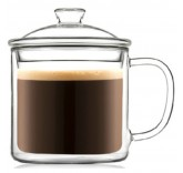 Кружка с двойным стеклом Mark 400 ml для кофе и чая