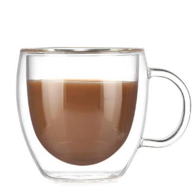 Купить Кружка с двойным стеклом Tony 150 ml для горячих напитков с доставкой по России