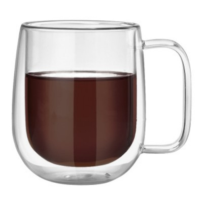 Купить Кружка с двойным стеклом Tony 350 ml для горячих напитков с доставкой по России