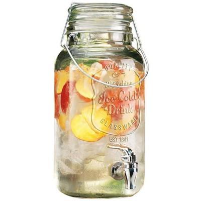 Купить Диспенсер лимонадник Ice Cold Drink для холодных напитков и домашнего лимонада 3.5 л с доставкой по России