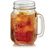 Кружка банка для лимонада и смузи County Fair Drinking Jars 500 ml