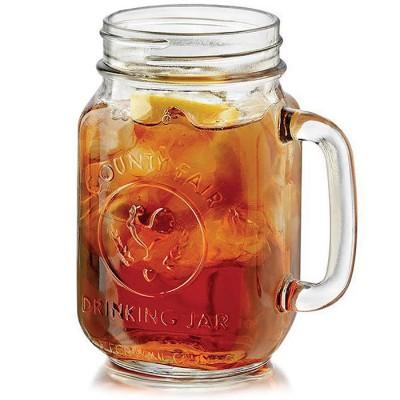 Купить Кружка банка для лимонада и смузи County Fair Drinking Jars 500 ml с доставкой по России