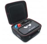 Сумка переноска для перевозки и хранения Nintendo Switch + отделение для дополнительных аксессуаров, цвет черный