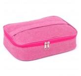 """Изотермическая термосумка Home Comfort """"Ланч бокс"""" на 3.5 литра, цвет розовый"""