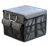"""Сумка-органайзер в багажник автомобиля складная Home Comfort """"Scorp-36"""", черная"""