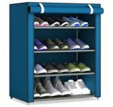 """Тканевый шкаф для хранения обуви Home Comfort """"Shoes Shelf"""", 4 полки"""