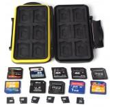 Водонепроницаемый кейс BlackMix для хранения карт памяти и сим-карт 48 в 1
