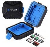Водонепроницаемый кейс Puluz для хранения карт памяти и сим-карт 11 в 1