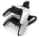 Зарядная станция - подставка для двух джойстиков PlayStation 5 (PS5)