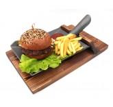 Блюдо в форме совковой лопаты