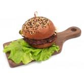 Деревянная доска для подачи блюд (28х11см)