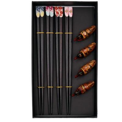 Купить Набор палочек MaxxMalus для суши с подставками 100-093 с доставкой по России