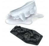 Силиконовая форма для приготовления льда необычной формы Зубы вампира