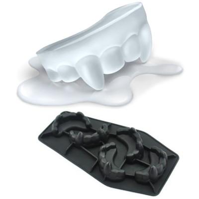 Купить Силиконовая форма для приготовления льда необычной формы Зубы вампира с доставкой по России