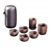 """Дорожный набор для чайной церемонии в футляре MaxxMalus """"Tea Set"""", 6 предметов Уцененный"""
