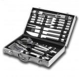 Набор для барбекю в металлическом чемодане (26 предметов) (уцененный)