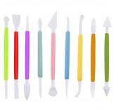 """Инструменты для украшения тортов в наборе MaxxMalus """"Домашний кондитер"""", 9 приборов"""