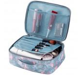 """Органайзер для перевозки косметики Home Comfort """"Travel Bag"""", цвет бирюзовый"""