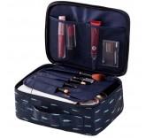 """Органайзер для перевозки косметики Home Comfort """"Travel Bag"""", цвет синий"""