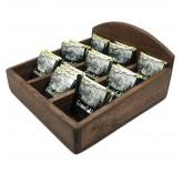Подставка для хранения чайных пакетиков из натурального дуба MaxxMalus «Уют»