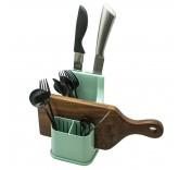 """Подставка для сушки и хранения посуды Home Comfort """"Варта"""", цвет ментол"""