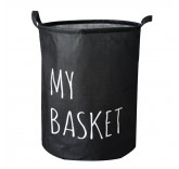Корзина для белья My Basket (400*500мм) черная