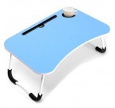 """Столик-подставка для завтрака, ноутбука, планшета Home Comfort """"Good Morning"""", цвет голубой"""