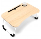 "Столик-подставка для завтрака, ноутбука, планшета Home Comfort ""Good Morning"", цвет бежевый"