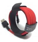 Кабель Xiaomi ZMI USB - Lightning MFi Kevlar Cable Red 200 см (AL881)