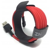 Кабель Xiaomi ZMI USB - Lightning MFi Kevlar Cable Red 200 см (AL833)