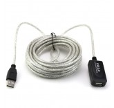 Кабель активный удлинитель USB 2.0 (5 метров)