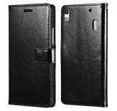 Кожаный чехол для Lenovo K3 Note черный