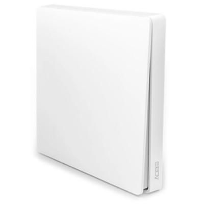 Купить Выключатель с электронной коммутацией Aqara WXKG03LM, белый (Single Key) с доставкой по России