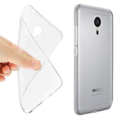 Купить Силиконовый чехол для Meizu MX5 ультратонкий с доставкой по России