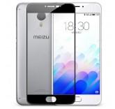 Защитное стекло для Meizu M3 Note черное (BlackMix)