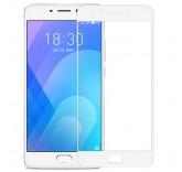 Защитное стекло для Meizu M6 Note белое (BlackMix)
