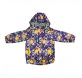 """Зимняя куртка для девочки с меховой подстежкой """"Снежинки"""""""