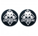 "Накладки на стики для геймпада на PS5/Xbox Series X ""Outbreak"" (2 шт)"