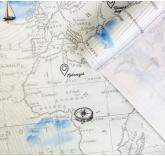 Подарочная упаковка крафтовая Карта