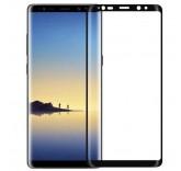 Защитное стекло для Samsung Note 8 черное (BlackMix)
