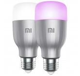 Упаковка светодиодных ламп 2 шт Xiaomi Mi LED Smart Bulb 2-Pack MJDP02YL, E27, 10Вт